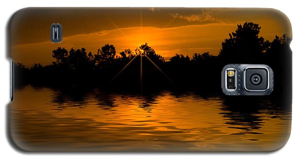 Golden Sunrise Galaxy S5 Case by Cindy Haggerty