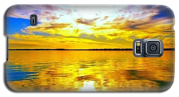 Sunset Galaxy S5 Case - Golden Sunset II by James Granberry