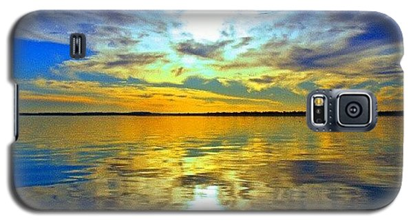 Sunset Galaxy S5 Case - Golden Sunset IIi by James Granberry