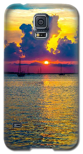 Golden Waters Galaxy S5 Case