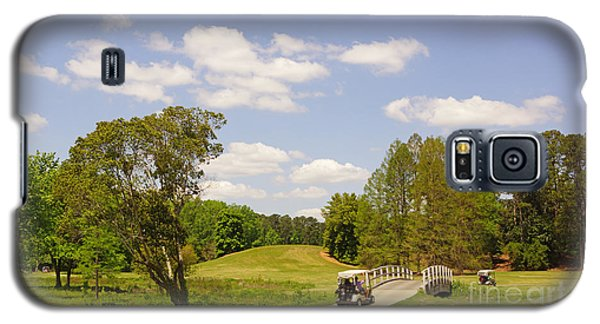 Golf At Calloway Gardens Galaxy S5 Case by J Jaiam