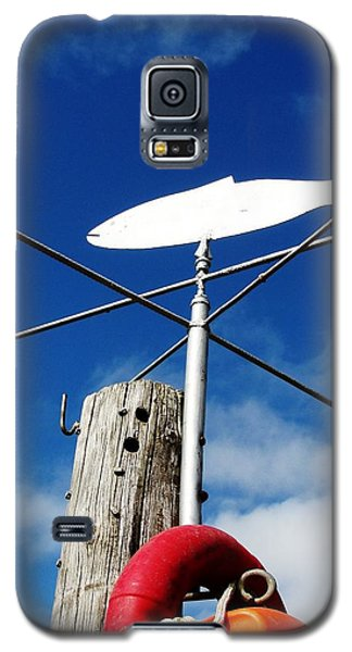 Galaxy S5 Case featuring the photograph Gone Fishing by Charlie and Norma Brock