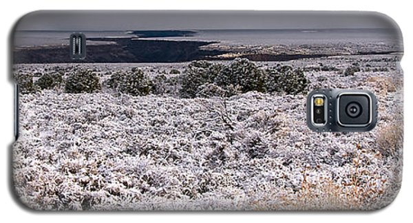 Galaxy S5 Case featuring the photograph Gorge Snow by Britt Runyon