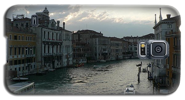 Galaxy S5 Case featuring the photograph Grand Canal At Dusk by Laurel Best