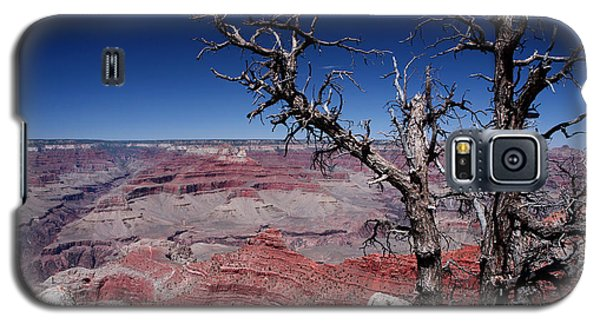 Galaxy S5 Case featuring the photograph Grand Canyon Number One by Lon Casler Bixby