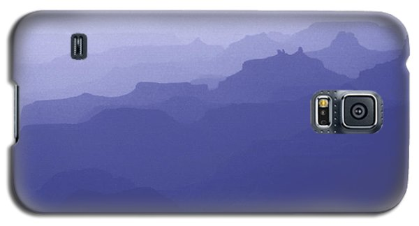 Grand Canyon Silhouettes Galaxy S5 Case