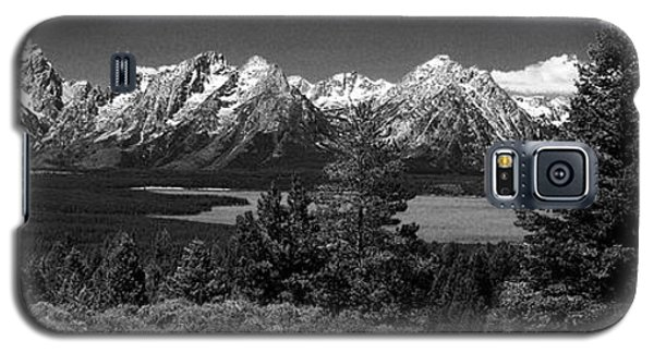 Galaxy S5 Case featuring the photograph Grand Tetons by Dan Wells