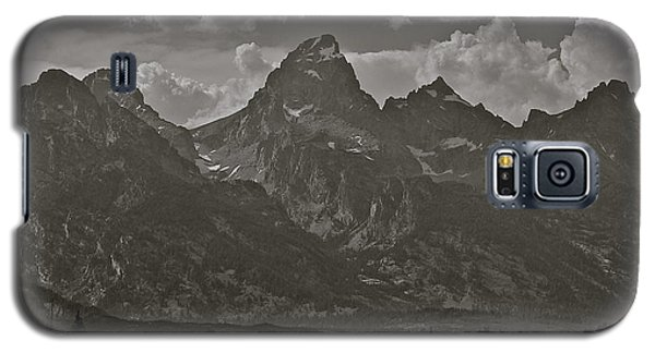 Galaxy S5 Case featuring the photograph Grand Tetons by Eric Tressler