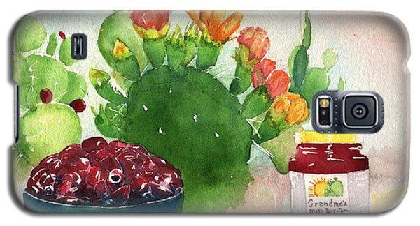 Grandmas Prickly Pear Jam Galaxy S5 Case by Sharon Mick