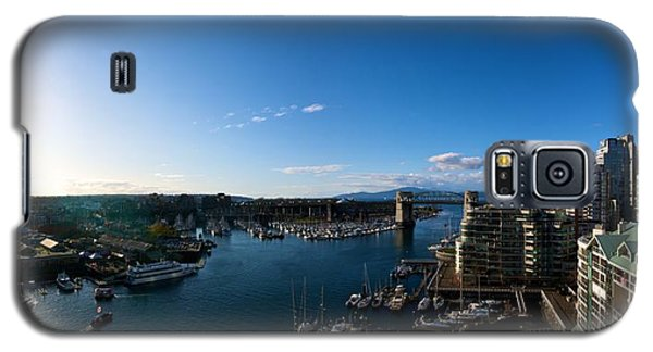 Galaxy S5 Case featuring the photograph Grandville Island In Yaletown Bc by JM Photography