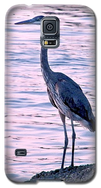 Galaxy S5 Case featuring the photograph Great Blue Heron by Brian Wright