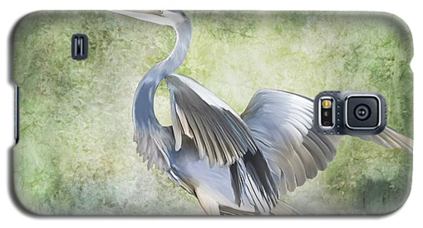 Great Blue Heron Galaxy S5 Case by Francesa Miller