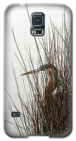 Galaxy S5 Case featuring the photograph Great Blue Heron by Kay Lovingood