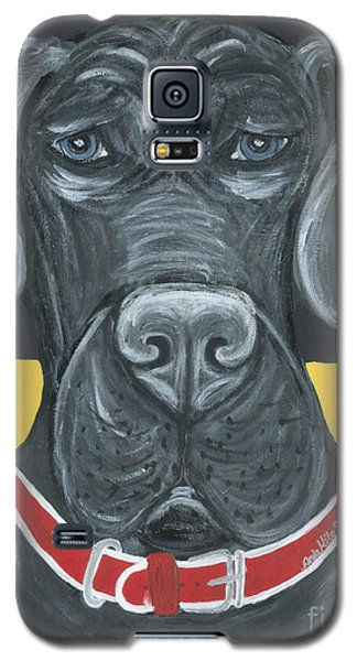 Great Dane Poster Galaxy S5 Case
