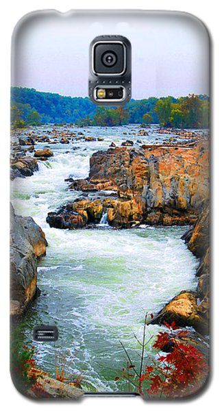 Great Falls On The Potomac River In Virginia Galaxy S5 Case