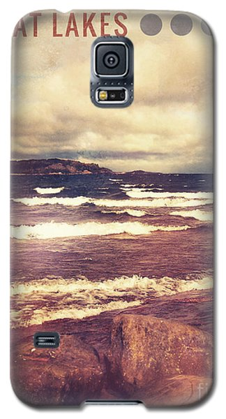 Galaxy S5 Case featuring the photograph Great Lakes by Phil Perkins