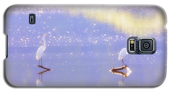 Great White Heron Galaxy S5 Case