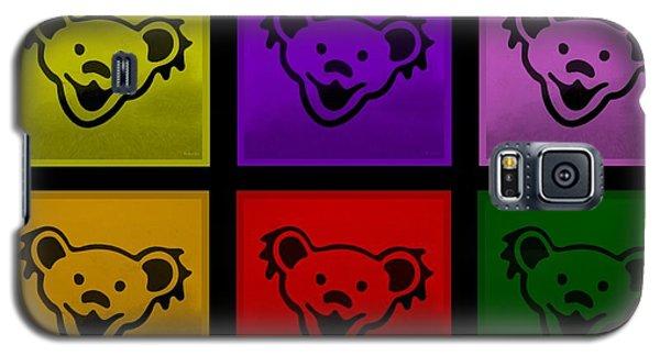 Greatful Dead Dancing Bears In Multi Colors Galaxy S5 Case