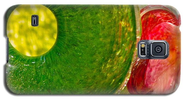 Green And Red Galaxy S5 Case by Artist and Photographer Laura Wrede