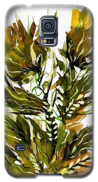 Green Flames Galaxy S5 Case