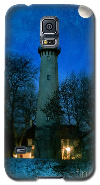 Grosse Point Lighthouse Before Dawn Galaxy S5 Case
