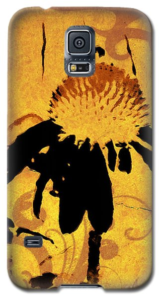 Grunge  Daisy Art Galaxy S5 Case