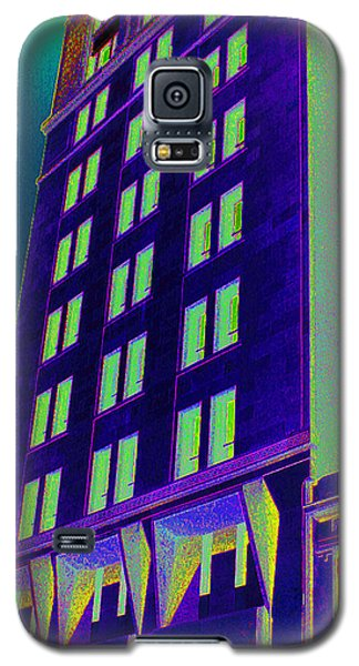 Galaxy S5 Case featuring the photograph Guaranty Bank Building by Louis Nugent