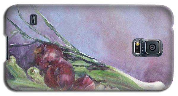 Galaxy S5 Case featuring the painting Gumbo  by Carol Berning
