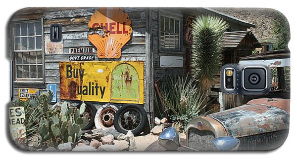 Hackberry Signs   Arizona Route 66 Galaxy S5 Case