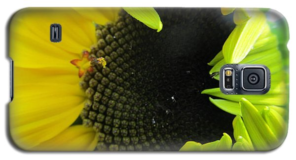 Galaxy S5 Case featuring the photograph Half-bloom Beauty by Tina M Wenger