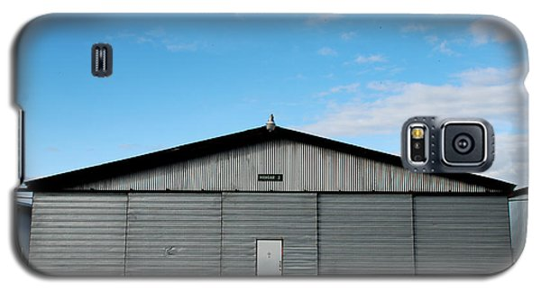 Galaxy S5 Case featuring the photograph Hangar 2 The Building by Kathleen Grace