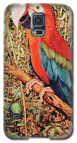 Happy Is But A Mask Galaxy S5 Case by Charles Munn