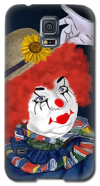 Happy Clown Galaxy S5 Case by Methune Hively