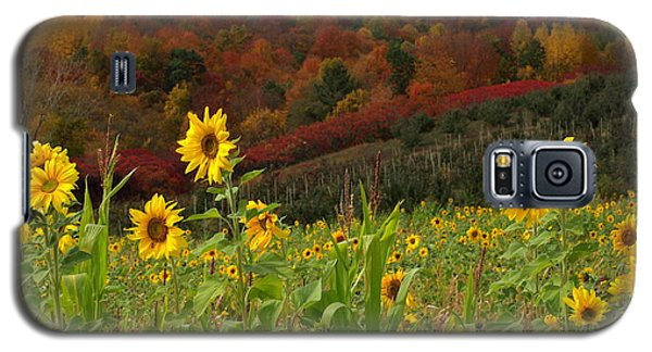 Galaxy S5 Case featuring the photograph Happy Fall by Linda Mishler