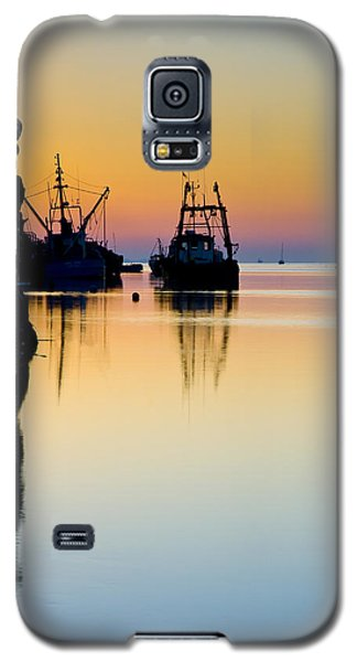 Harbour Sunrise Galaxy S5 Case by Trevor Chriss