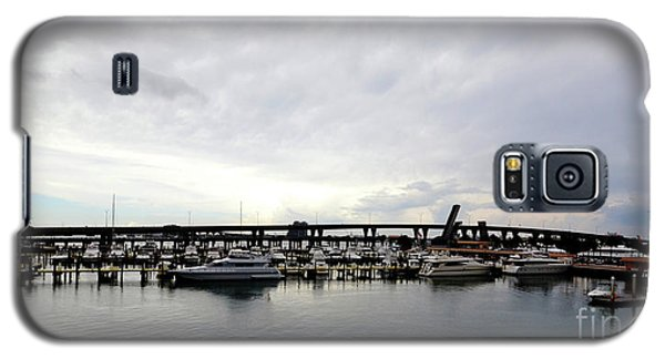 Galaxy S5 Case featuring the photograph Harbours by Pravine Chester