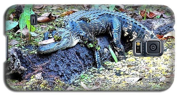 Hard Day In The Swamp - Digital Art Galaxy S5 Case by Carol Groenen