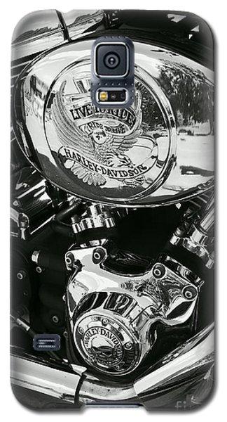 Harley Davidson Bike - Chrome Parts 02 Galaxy S5 Case