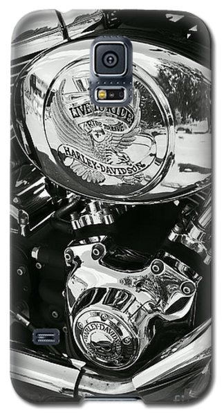 Harley Davidson Bike - Chrome Parts 02 Galaxy S5 Case