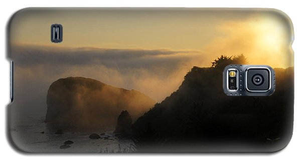 Harris Beach Sunset Panorama Galaxy S5 Case by Mick Anderson
