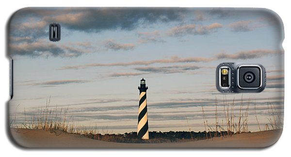 Hatteras Lighthouse And The Smiling Dune Galaxy S5 Case by Tony Cooper
