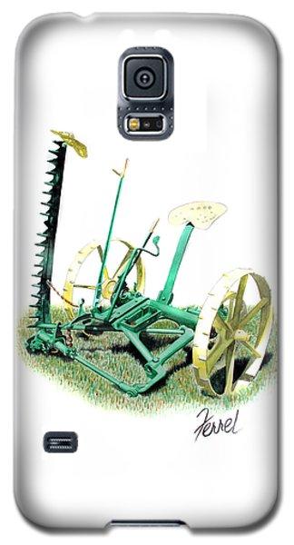 Hay Cutter Galaxy S5 Case by Ferrel Cordle