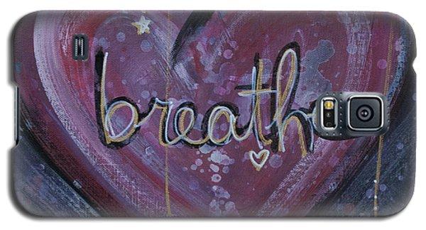 Heart Says Breathe Galaxy S5 Case