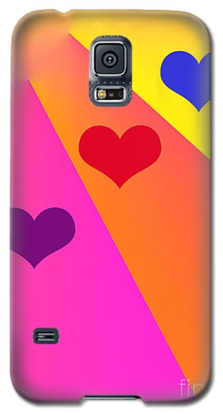 Heartbeams Galaxy S5 Case