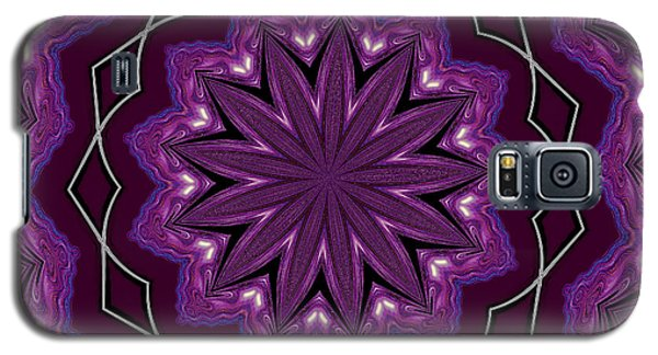 Galaxy S5 Case featuring the digital art Heather And Lace by Alec Drake