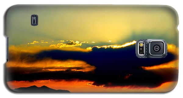 Galaxy S5 Case featuring the photograph Heaven Is Watching by Jeanette C Landstrom