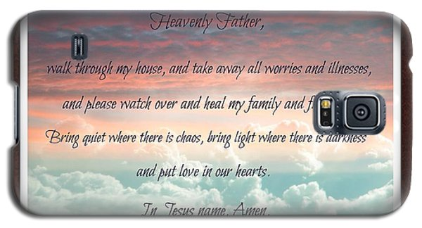 Heavenly Father Prayer Galaxy S5 Case by Michelle Frizzell-Thompson