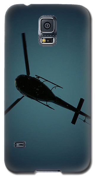 Helicopter Silhouette Galaxy S5 Case