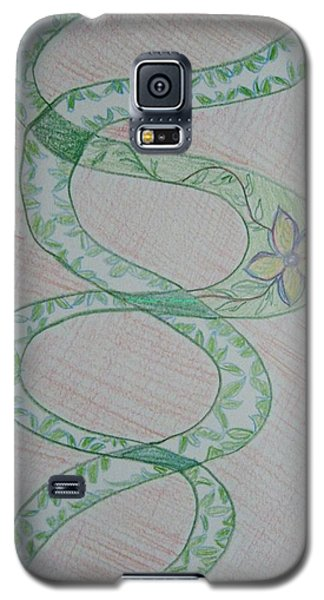 Galaxy S5 Case featuring the painting Helix  by Sonali Gangane