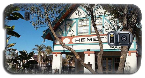 Hemet Museum-old Santa Fe Depot Galaxy S5 Case